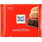 Шоколад чорний Ritter Sport з начинкою марципан 100г