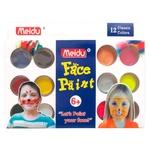 Набор для грима Meidu IMG4296-12 12цветов  + 2 кисточки + губка