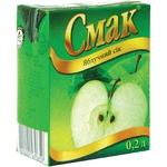 Сок Смак Яблочный 200мл