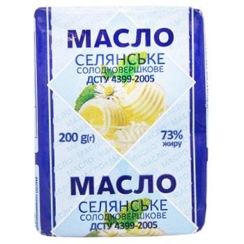 Selianske Sweet Cream Butter 73% 200g