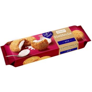 Roshen Esmeralda milk cookies 170g - buy, prices for EKO Market - photo 1