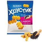 Крекер Roshen Хрустик з маком 180г