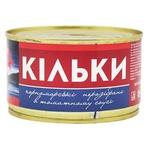 Килька Морские №5 черноморская обжаренная в томатном соусе 240г