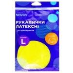 Перчатки Novus латексные L