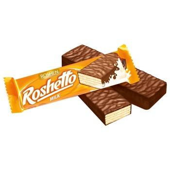 Roshen Roshetto Milk Candy Bar - buy, prices for CityMarket - photo 1