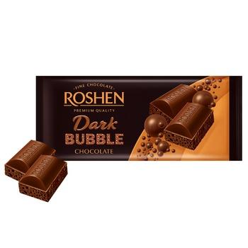 Roshen dark air chocolate 80g - buy, prices for CityMarket - photo 1