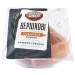 Sausages Alan Cream portioned flow-pack Ukraine