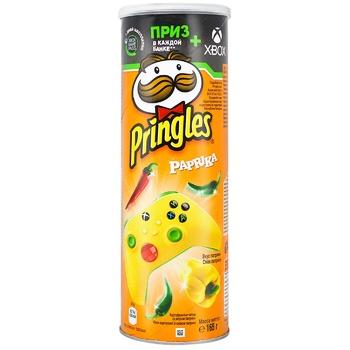 Чипсы Pringles картофельные со вкусом паприки 165г - купить, цены на Ашан - фото 2