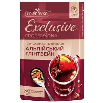 Pripravka Exclusive Professional Alpine Mulled Wine Spice Mix 15g - buy, prices for CityMarket - photo 1