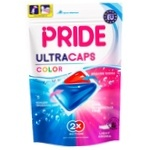 Pride Color For Colored Linen Gel Washing Capsules 14pcs 322g