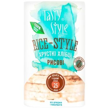 Tasty Style rice crispbread 95g - buy, prices for Auchan - photo 1