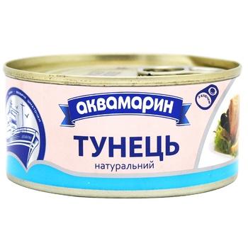 Akvamaryn Natural Tuna 185g