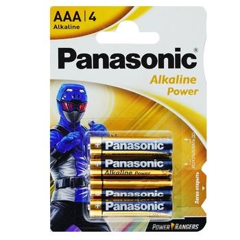 Батарейка Panasonic Alkaline Power AAA 4 - купити, ціни на ЕКО Маркет - фото 1