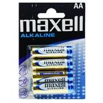 Батарейка Maxell щелочная AA LR6 4шт