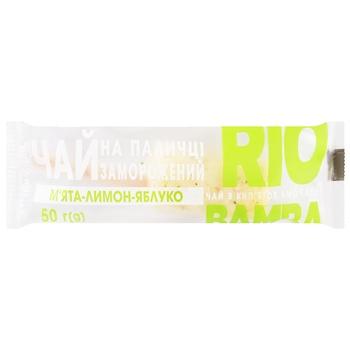 Чай Rio Bamba замороженный мята-лимон-яблоко 50г
