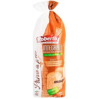 Хлеб Роберто для тостов нарезанный 400г