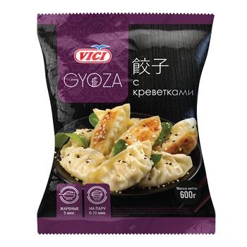 Vici Gyoza Dumplings with Shrimp 600g - buy, prices for CityMarket - photo 1