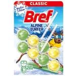 Блок туалетный Bref Альпийский серфер 2*50г