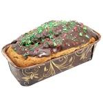 Кекс Праздничный с клюквой и цукатами