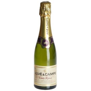 Вино ігристе Juve&Camps Cinta Purpura Reserva біле брют 12% 375мл - купити, ціни на CітіМаркет - фото 1