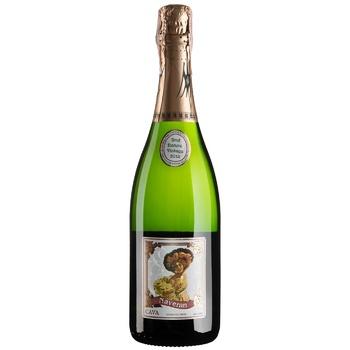 Вино ігристе Naveran Brut Nature Vintage біле брют 12% 0,75л - купити, ціни на CітіМаркет - фото 1