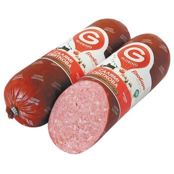 Globino Salami Festive Boiled-smoked Premium Sausage - buy, prices for CityMarket - photo 1