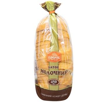 Rumyanets Sliced Milk Long Loaf 450g