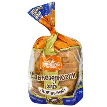 Хлеб Румянец пшеничный цельнозерновой нарезанный 400г
