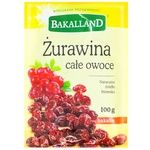Bakalland dried cranberry 100g