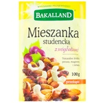 Bakalland Studentska dried fruits with almonds 100g