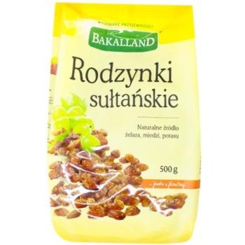 Bakalland Sultansʹki raisins 500g