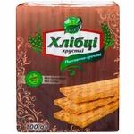 Хлебцы хрустящие Galleti пшенично-гречневые 100г