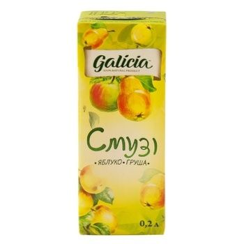 Galicia Apple-Pear smoothie 0,2l - buy, prices for CityMarket - photo 2