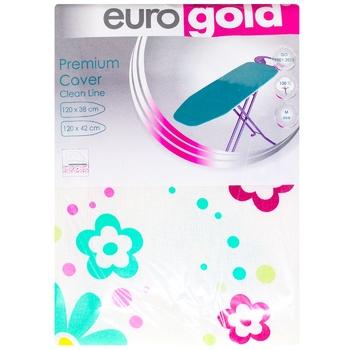 Чехол Eurogold для гладильной доски 120Х42см