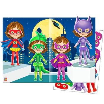 Набор для творчества Vladi Toys Мягкие наклейки - купить, цены на ЕКО Маркет - фото 2