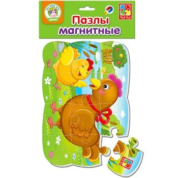 Vladi Toys Hen and Chick Magnetic Puzzle - buy, prices for EKO Market - photo 1