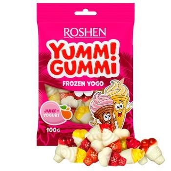 Конфеты желейные Roshen Yummi Gummi Frozen Yogo 100г - купить, цены на Novus - фото 1