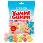 Конфеты Yummi Gummi Softy Hippos 100г