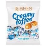 Ірис Roshen Milky Splash з молочною начиинкою 150г