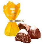 Конфеты Roshen Монблан с шоколадом и кунжутом