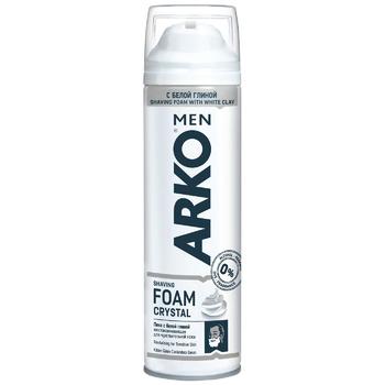 Пена для бритья Arko Crystal 200мл