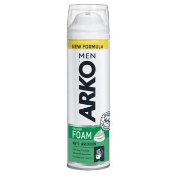Пена для бритья Arko Men Защита от раздражения 200мл - купить, цены на Ашан - фото 1