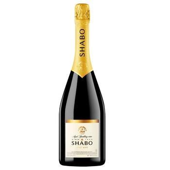 Вино ігристе Shabo Classic Brut біле сухе 10.5-13.5% 0,75л - купити, ціни на Ашан - фото 1