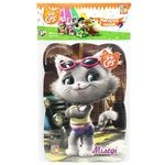 Vladi Toys 44 Cats. Milady in City Magnetic Puzzle