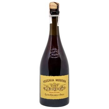 Вино полуигристое Cleto Chiarli Premium Lambrusco di Sorbara красное сухое 11% 0,75л - купить, цены на СитиМаркет - фото 1