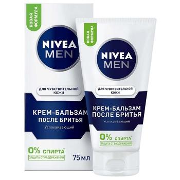 Крем-бальзам Nivea Men после бритья 75мл