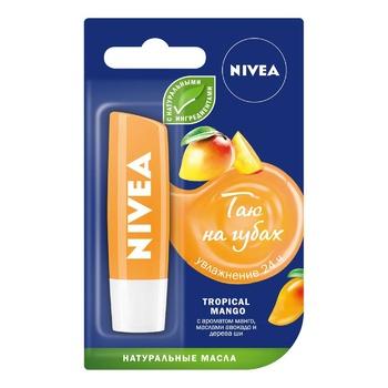 Бальзам для губ Nivea Тропический манго 5,5мл