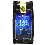 Кофе Lion Blue Coast натуральный жареный в зернах 1кг