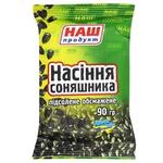 Семечки подсолнечника Наш Продукт жареное соленое 90г