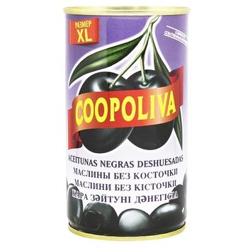 Coopoliva Pitted Black Olives 370ml - buy, prices for EKO Market - photo 1